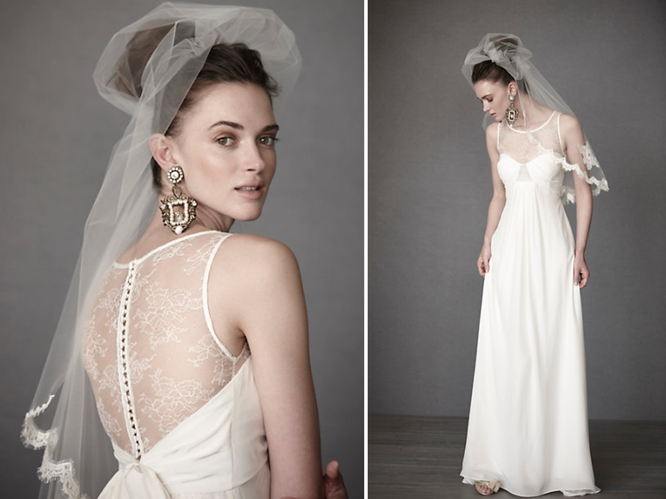 Dressybridal 2014 wedding gowns new trends part 2 for A line illusion neckline wedding dress