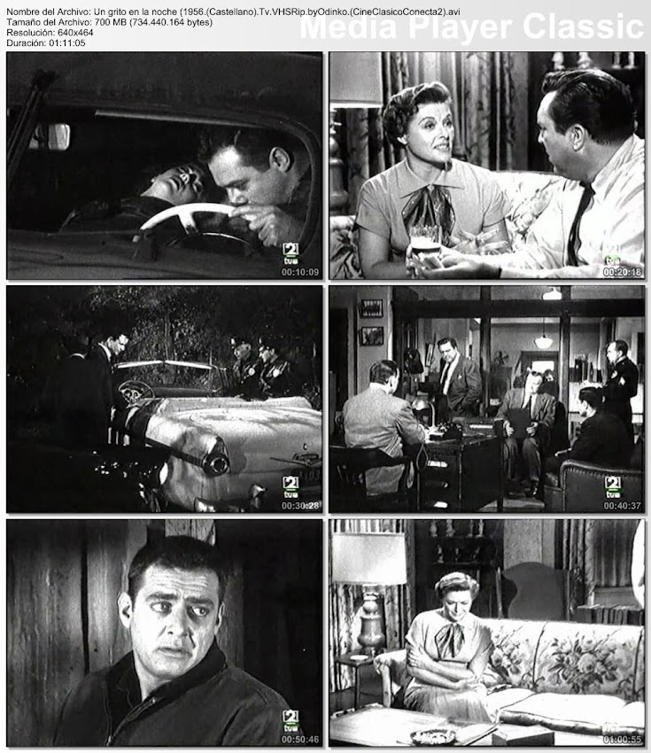 Un grito en la noche   1956   A Cry in the Night   Secuencias de la película