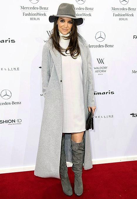 Katie Holmes Berlin Fashion Week