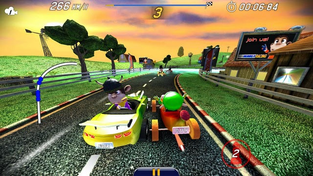 Monkey Racing screenshot
