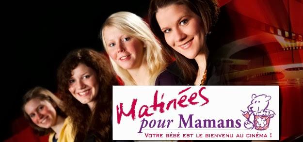 Regardez des films pour les grands dans des cinémas adaptés aux bébés grâce à Matinées pour Mamans #MamanPG