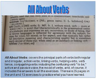 All About Verbs by Charlene Tess photo