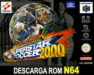 International Superstar Soccer 2000 ROMs Nintendo64 Español