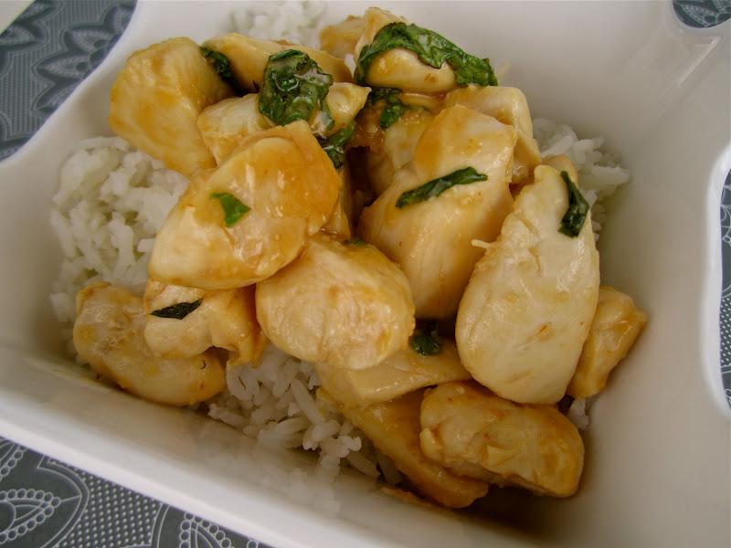 Stephanie Cooks: Spicy Basil Chicken