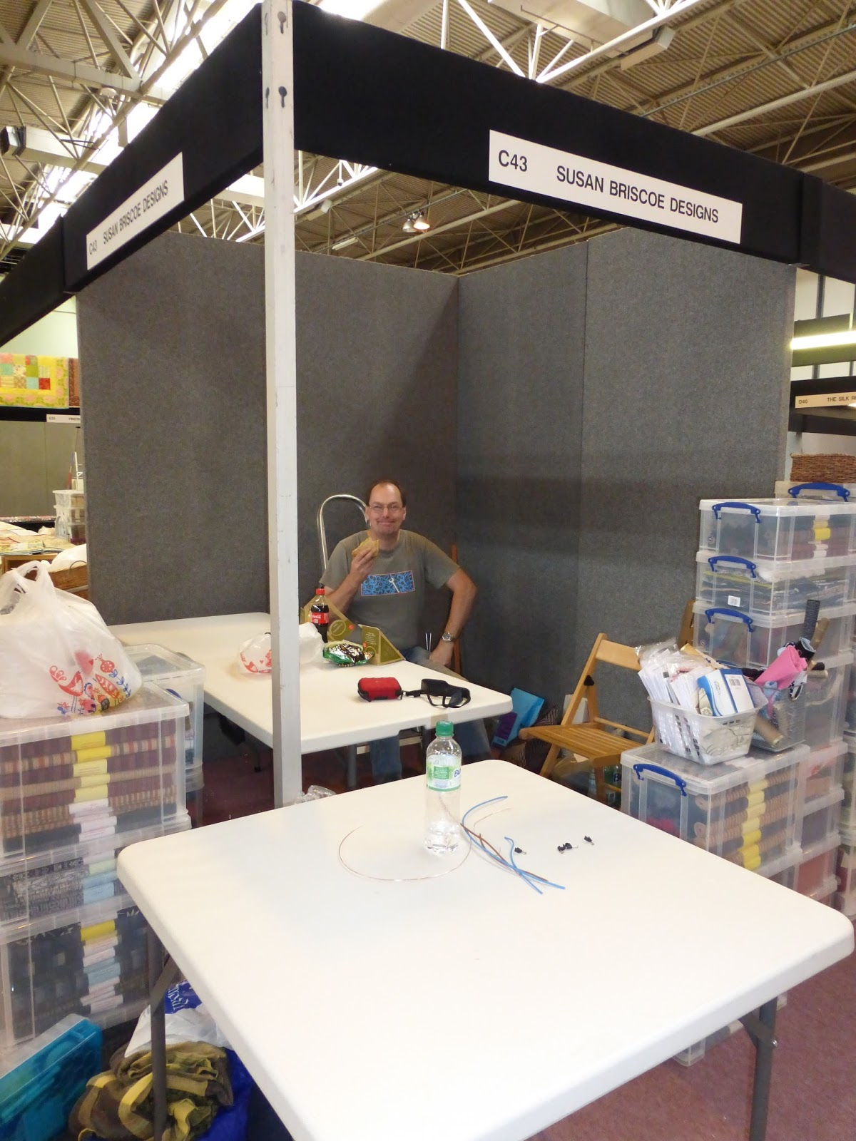 sashiko and other stitching: The Knitting and Stitching Show is coming to Edi...