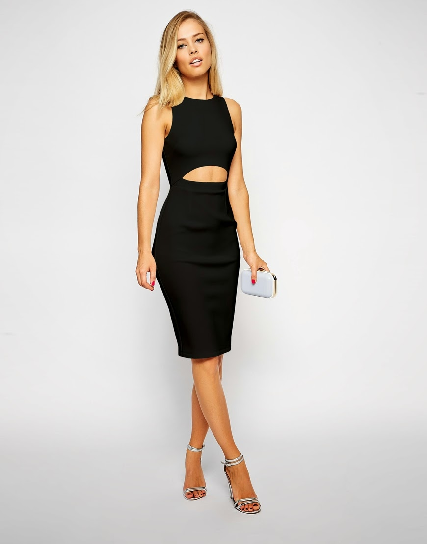midi dress with open front