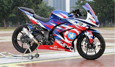 Ninja 250 airbrush modif