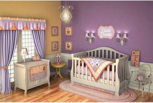 chambre bébé déco violet, décoration de chambre de bébé, décoration en violet, décoration pour le bébé, décorations,