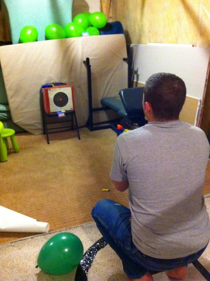 Hawkeye Hot Shot Shooting Game