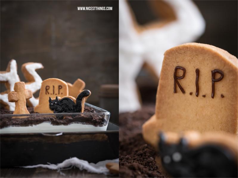 Halloween Nachtisch Halloween Dessert Friedhof