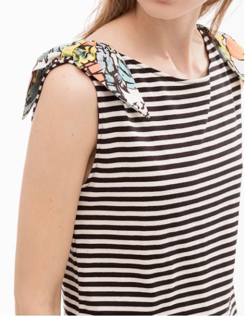 Rebajas SS 2015 fondo de armario camiseta marinera