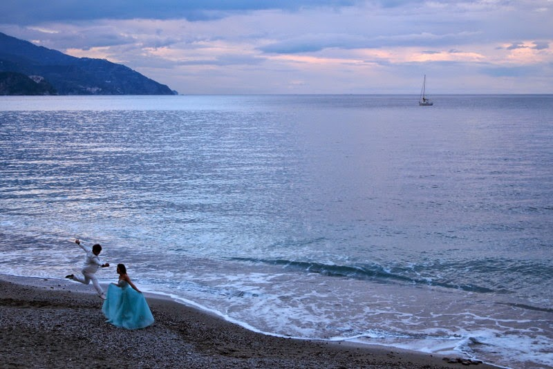 Wedding photo shoot - Monterosso al Mare, Cinque Terre Italy