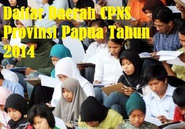 Pendaftaran CPNS Papua 2014