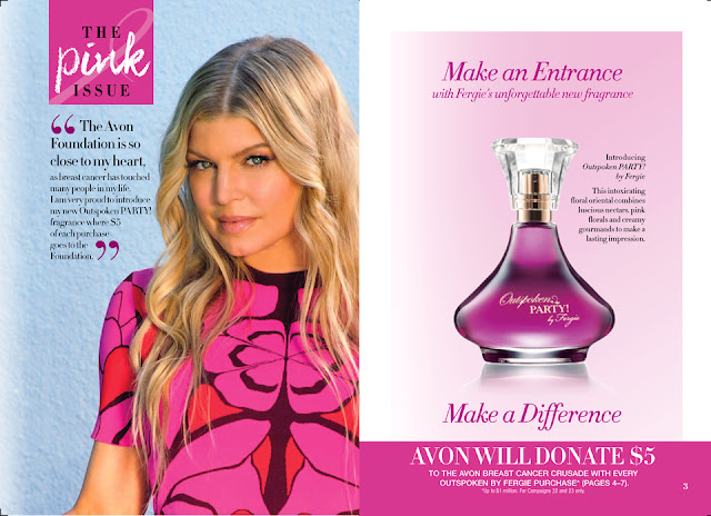 Avon Outspoken Party by Fergie