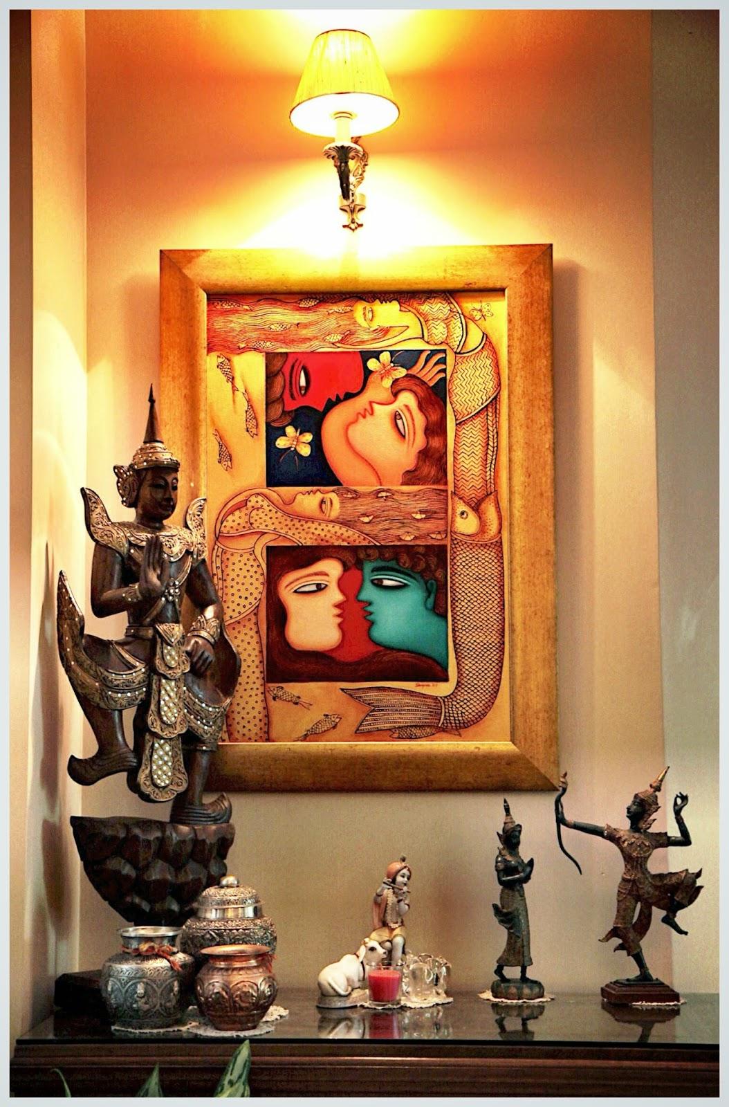 Balinese Coffee Table Set