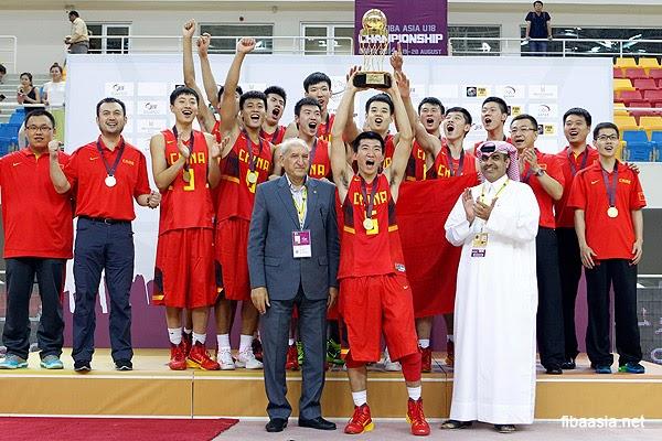 2014 FIBA Asia U18 Championship Final Standing | Batang Gilas - 5th Place