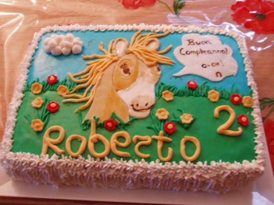 La cucina dei golosi torta a cavallo per roberto - La cucina di sara torte ...
