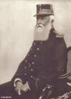 Koning Leopold II 1835-1909, was de 2e koning van België van 1865-1909