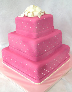 Pink Quinceanera Cakes