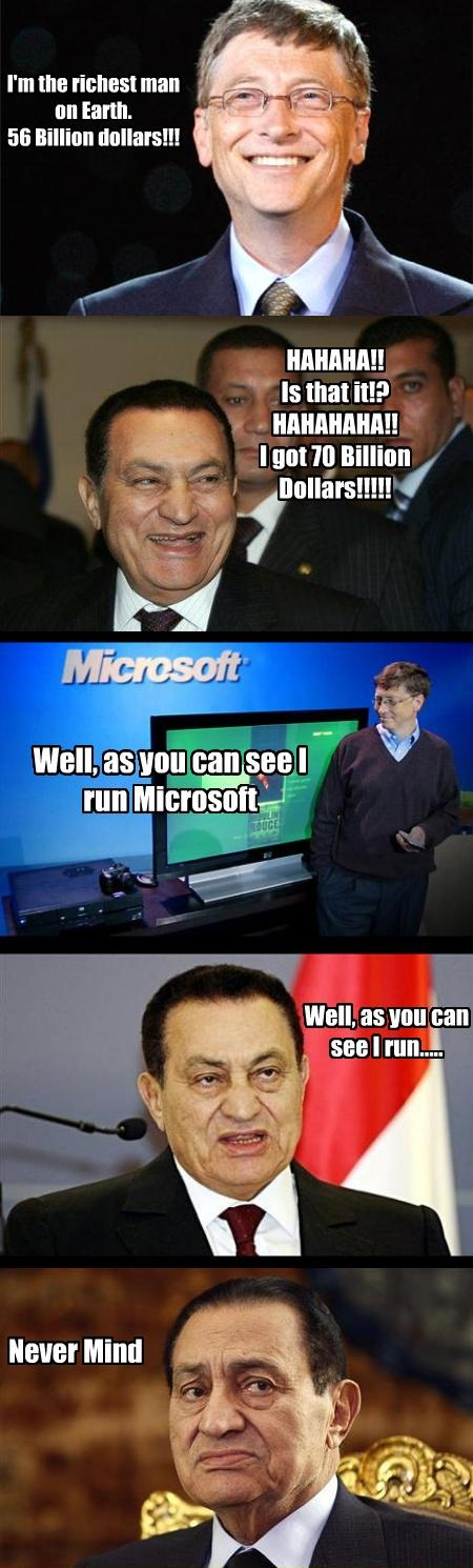 I Run.. For atleast 10 Miles  : Funny Pic of the day,  funny pictures, best funny images, bill gates, funny computer humor, funny jokes on bill gates, funny pc jokes, Funny Pic of the day, humor, humortechblog.com, I Run, jokes on bill gates