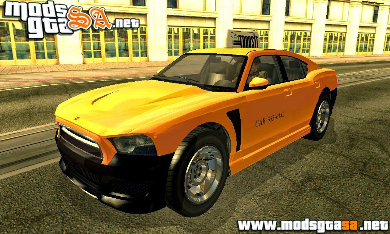 SA - Buffalo S DRVSF Edition do GTA V (Táxi e Policia)