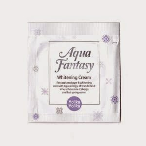 Jual Holika Holika Aqua Fantasy Whitening Cream 1.5ml – Sample Sachet