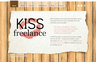 KISS Freelance Website