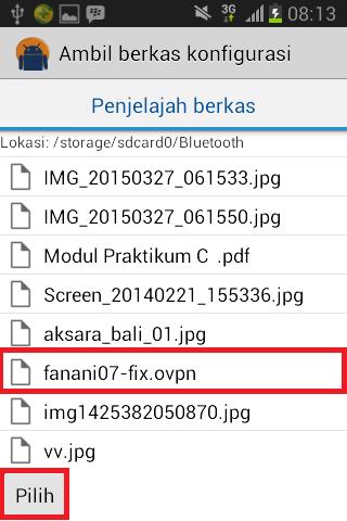 Cara Menggunakan OpenVPN di Android 2015