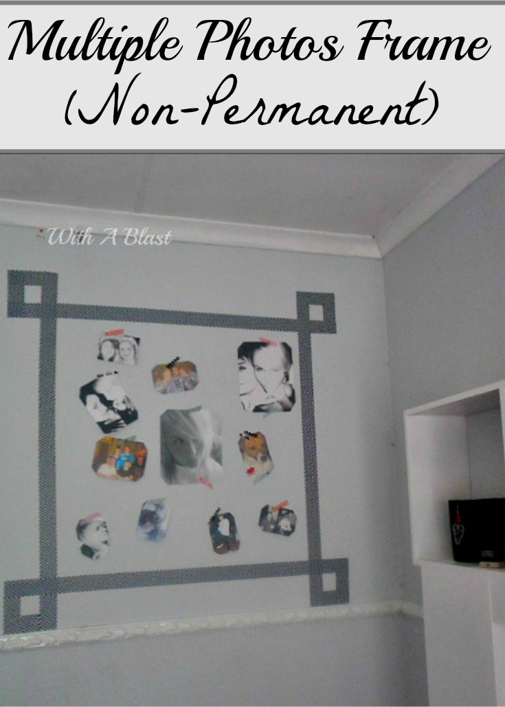 Wall Photo Frame non permanent