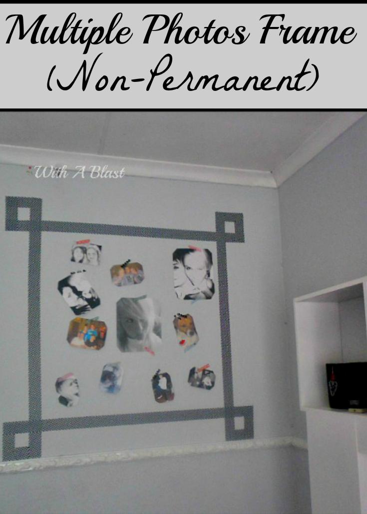 Wall Photo Frame non permanent