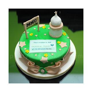 kek hantaran muslimah, kek hantaran masjid