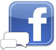 També al Facebook: