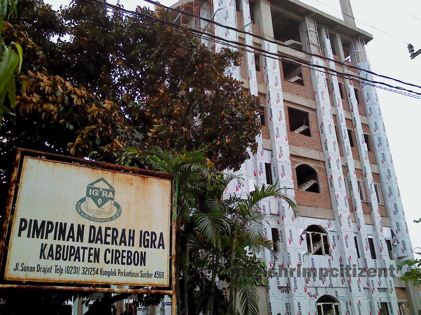 Pembangunan Menara Masjid Agung Sumber, Kab. Cirebon 8