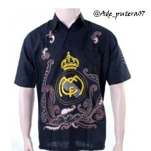 Batik Real Madrid
