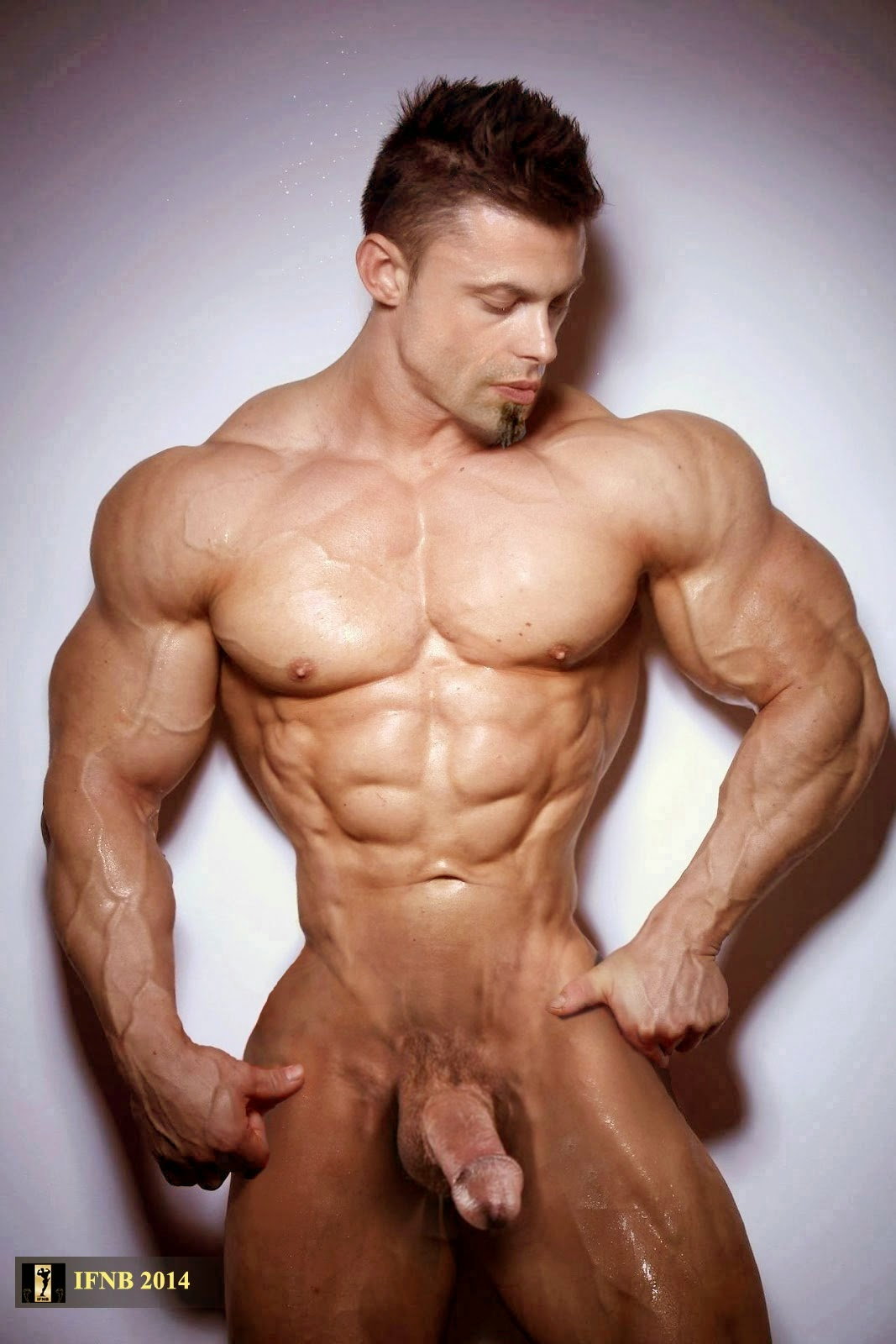 men naked muscle Morphed