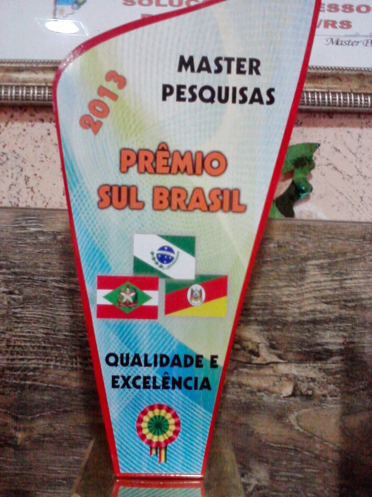 Prêmio Sul Brasil 2013