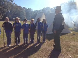 Montgomery Catholic Fourth Graders Visit the Past While Studying Alabama History 1