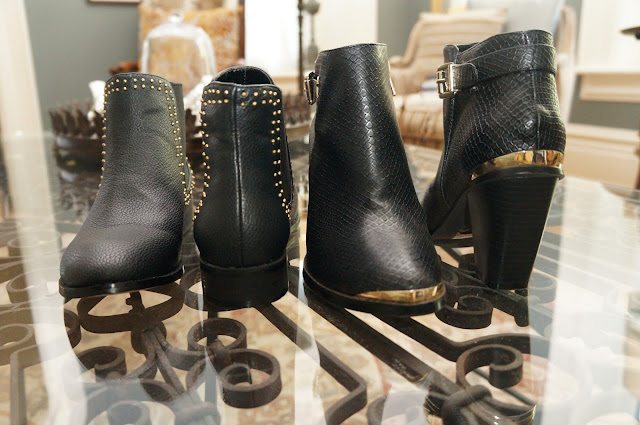 Material Girl booties Fall 2013