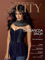 Chitrangda, Singh, hot, on, the, cover, of, Le, CITY, deluxe, Latest, magazine