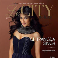 Chitrangda singh hot on the cover of le city deluxe latest magazine