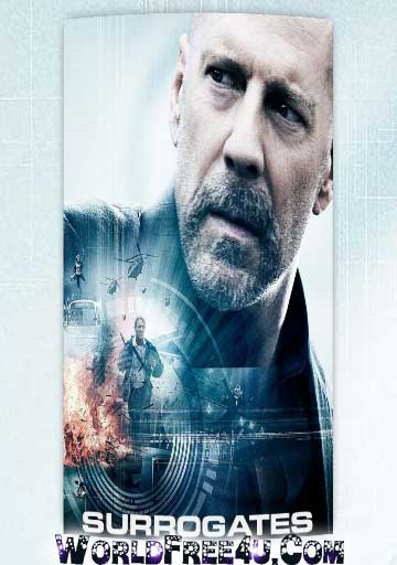 Poster Of Surrogates (2009) Full Movie Hindi Dubbed Free Download Watch Online At worldfree4u.com