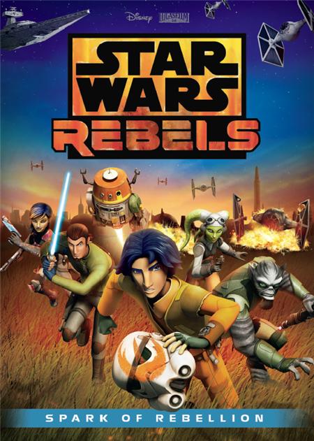 ดูการ์ตูน Star Wars Rebels Spark of Rebellion ศึกกบฎพิทักษ์จักรวาล