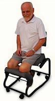 silla ergonómica para meditar