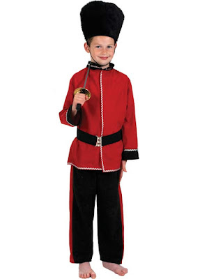 Livgarde kostume barn