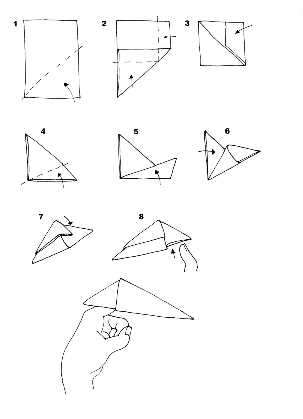 How to make paper claws 70