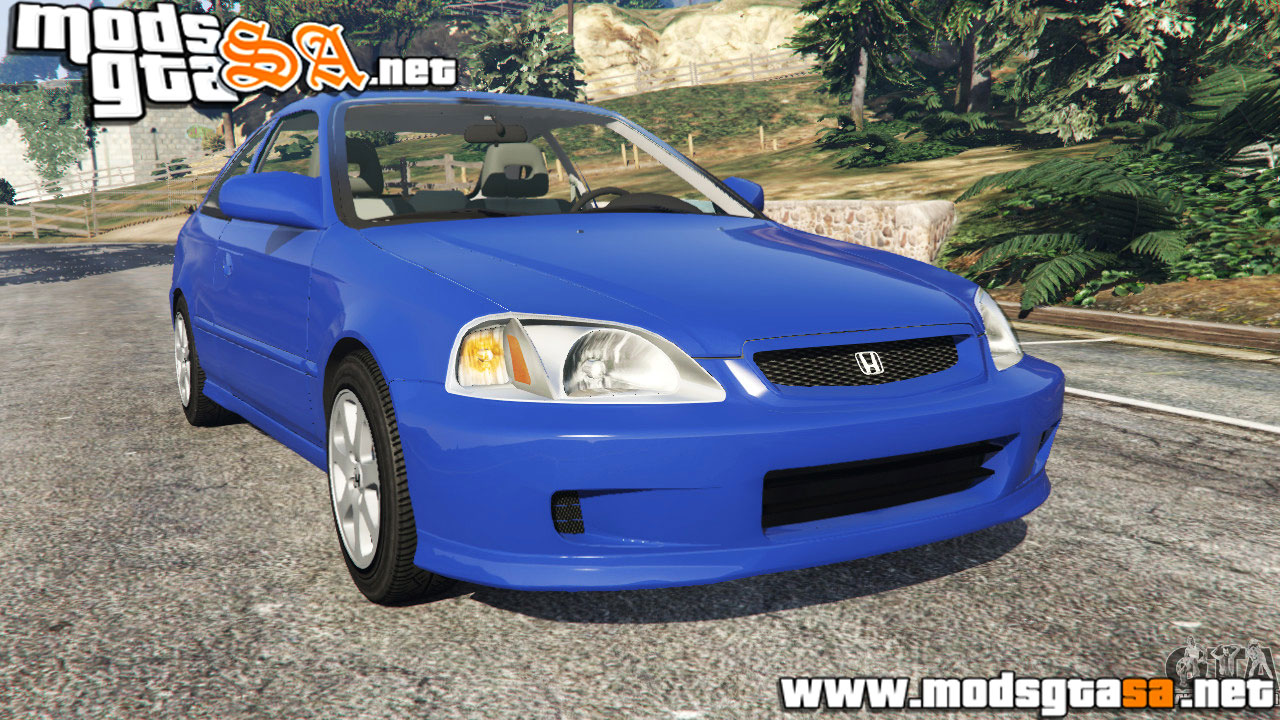 V   Honda Civic Si 1999 Para GTA V PC
