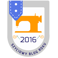 Szyciowy blog roku