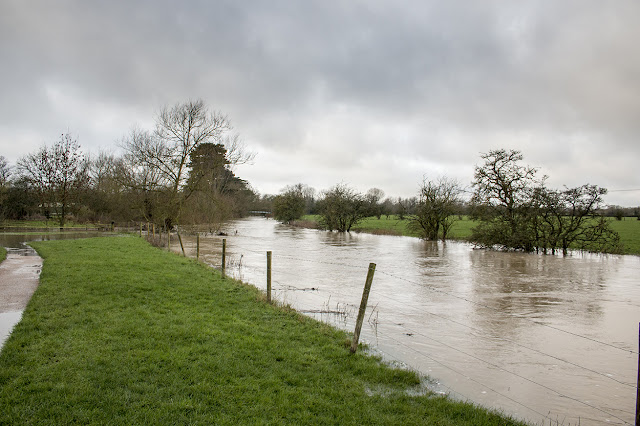 Flooded Ouse to the West