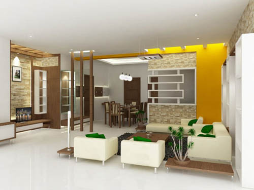Simple white apartment interior designs home design ideas for Simple house design inside