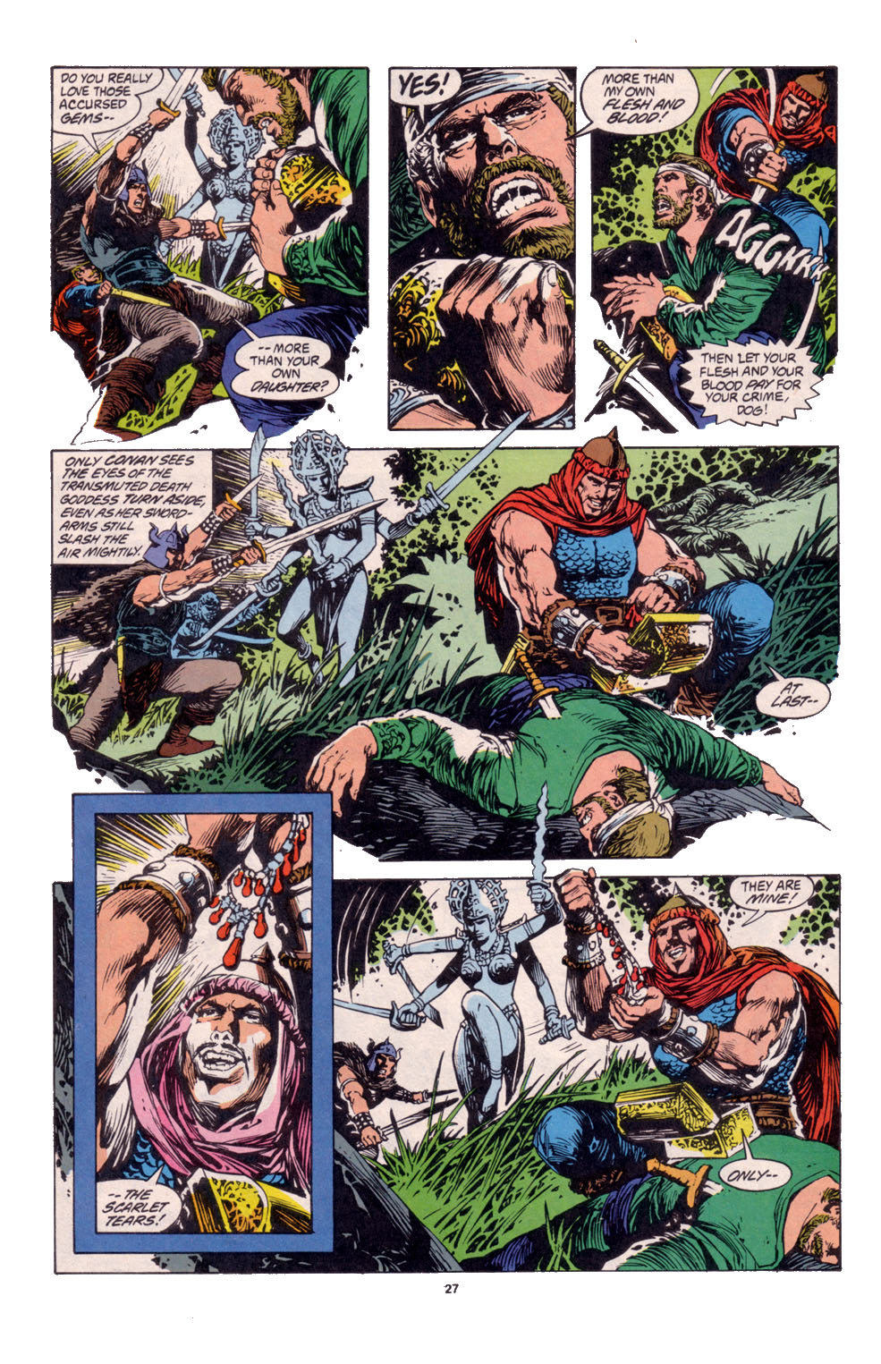 Conan the Barbarian (1970) Issue #261 #273 - English 20